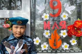 В Якутии идет акция #ОкнаПобедыЯкутия #ОкнаПобеды