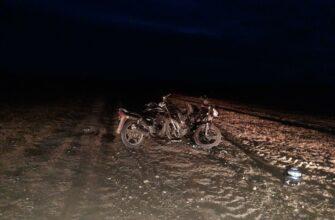 В Якутии два подростка-мотоциклиста пострадали в ДТП