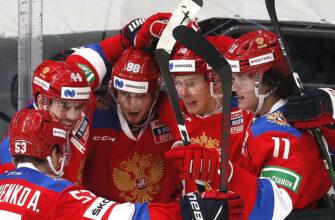 Сборная России победила Данию на чемпионате мира по хоккею