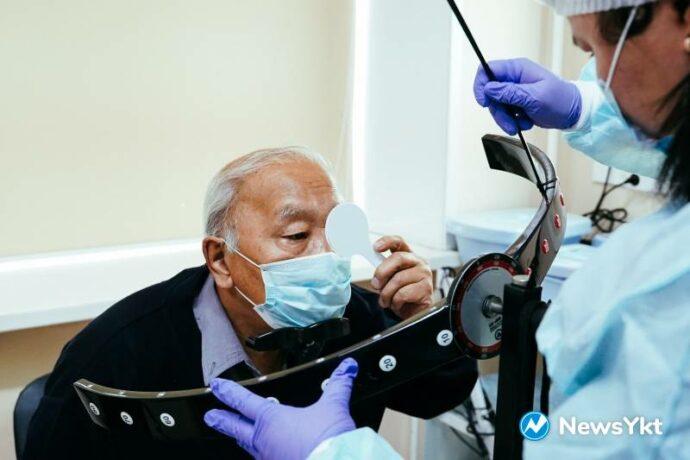 В честь Года здоровья в Якутии зрение жителей республики обследуют бесплатно