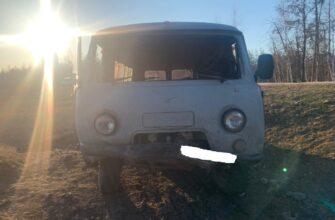 В Намском районе перевернулся УАЗ