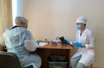 Поликлиника №1 ждет желающих проверить свое здоровье на Строительном рынке Якутска