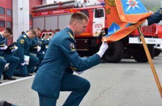 Во Владивостоке прошёл выпуск курсантов Дальневосточной пожарно-спасательной академии