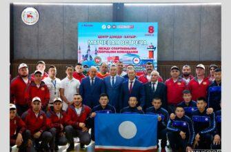 В Казани прошла матчевая встреча между спортивными сборными Татарстана и Якутии