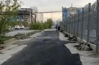 Мэр Якутска поручил проверить качество асфальтирования возле Ледового дворца