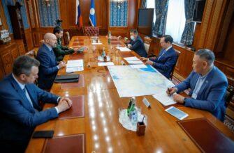 Глава Якутии встретился с руководителями лесного хозяйства страны