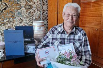 Ветерану Великой Отечественной войны Кириллу Павлову исполнилось 95 лет