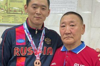 Якутский гиревик Дмитрий Михалев стал призером чемпионата России