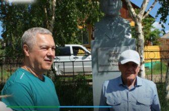 В городе Олекминске гостит сын Героя Советского Союза из Якутии Григория Зорина