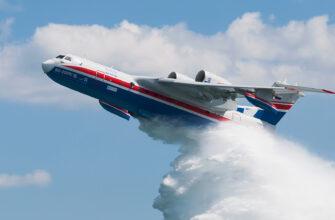 Самолет Бе-200 вылетит 8 июня в Нюрбинский улус для борьбы с пожарами