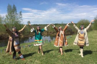 В поселке Усть-Мая Якутии состоялся эвенкийский национальный праздник Бакалдын