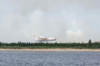 Сложная лесопожарная обстановка сохраняется в пяти районах Якутии