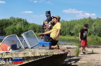 На акваториях Якутии продолжаются профилактические рейды