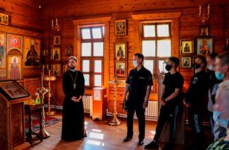 Осужденные колонии-поселения №2 посетили монастыри и храмы Якутска