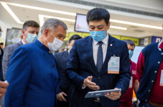 Президент Татарстана ознакомился с якутскими IT-проектами