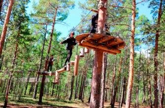 В Якутии для трудных подростков организовали посещение веревочного парка «Norway Park»