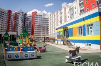 """В Якутске продолжается строительство новых детских садов в рамках нацпроекта """"Демография"""""""