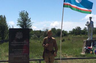 В Крыму открыли мемориал воинам-якутянам