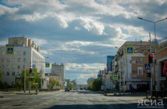 Погода на неделю в Якутске: Облачно и +25 градусов