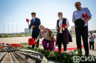 """В День памяти и скорби возложили цветы к монументу """"Воинам-победителям"""""""