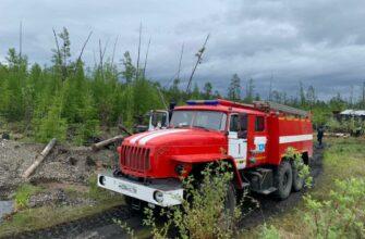 Сложная лесопожарная обстановка сохраняется в шести районах Якутии