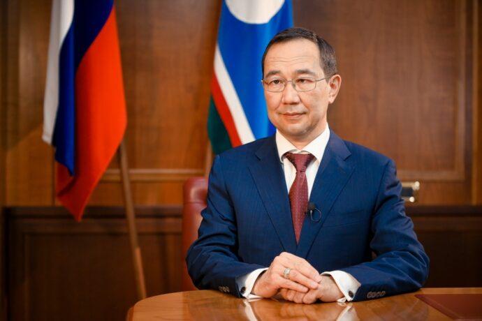 Айсен Николаев поблагодарил якутян за активное участие в выборах