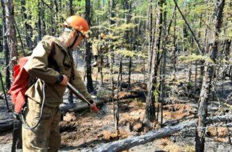 В Якутии за истекшие сутки ликвидировано четыре пожара