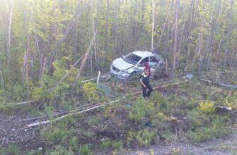 В Томпонском районе Якутии по вине пьяного водителя погибла женщина-пассажир
