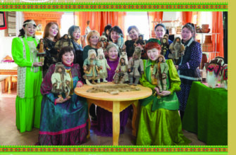 В Музее музыки и фольклора народов Якутии открылась выставка кукол по мотивам романа «Тыгын Дархан»