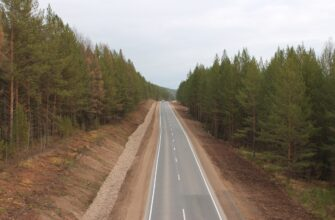 Движение на федеральной трассе «Вилюй» в Якутии осуществляется в штатном режиме