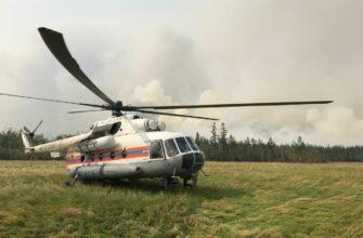 На территории Нюрбинского района Якутии в данное время действует 3 лесных пожара