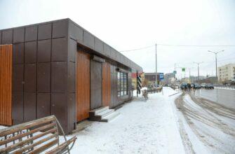 В Якутске в этом году установят 20 теплых остановок и 5 теплых туалетов
