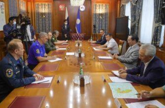 Глава Якутии встретился с заместителями министра ЧС РФ