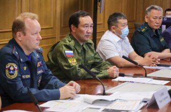 Айсен Николаев: Сегодня в Якутии ликвидировано в два раза больше пожаров, чем в прошлом году