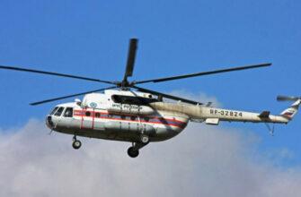 В Якутию направили четыре вертолёта Ми-8 МТВ для тушения лесных пожаров