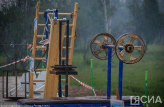 В селе Бердигестях Якутии развернулась выставка уникального спортивного снаряжения