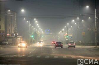 Дым в городе Якутске может сохраниться до вторника