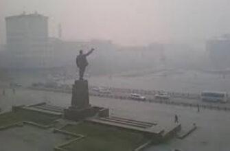 Якутск накрыл сильный дым от лесных пожаров в трех районах республики