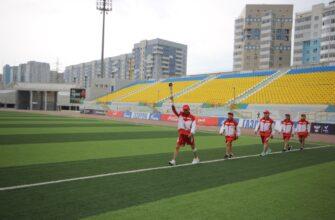 Город Якутск принял эстафету огня XXI Игр Манчаары по национальным видам спорта