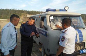 В Якутии мужчина пытался зарубить топором полицейского