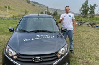 Пятикратному победителю Игр Дыгына Егору Филиппову вручили ключи от автомобиля