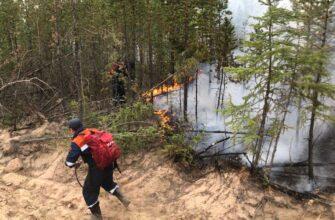 Сложная лесопожарная обстановка сохраняется в Верхневилюйском, Горном, Кобяйском районах Якутии