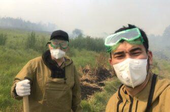 «Помочь может каждый». Добровольцы АЭБ рассказали о тушении пожаров в Горном районе Якутии