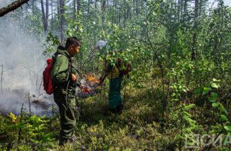 Глава Якутии поблагодарил пожарных республики