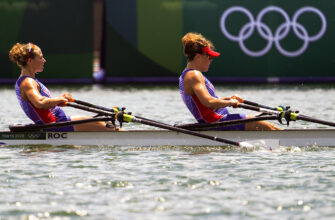 На Олимпиаде в Токио проходят соревнования по академической гребле