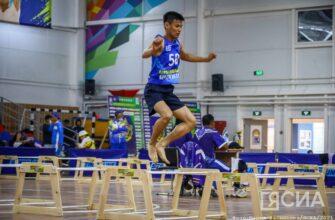 Игры Манчаары. Георгий Софронов установил рекорд по прыжкам через нарты