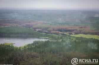В западной части Горного района Якутии прошли искусственные дожди