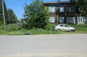 В Ленском районе сбили женщину на велосипеде