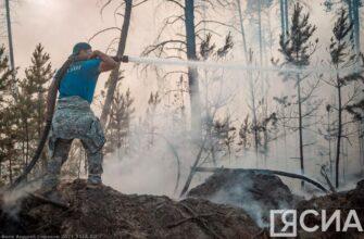 В ряде районов Якутии удалось отодвинуть пожары далеко от населенных пунктов