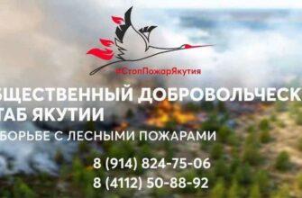 Общественный штаб Якутии по борьбе с лесными пожарами набирает добровольцев